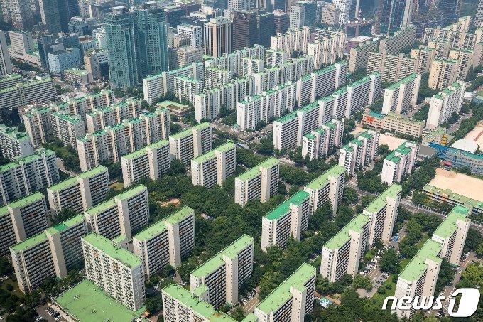 서울시내 아파트 단지 모습. (뉴스1DB) /뉴스