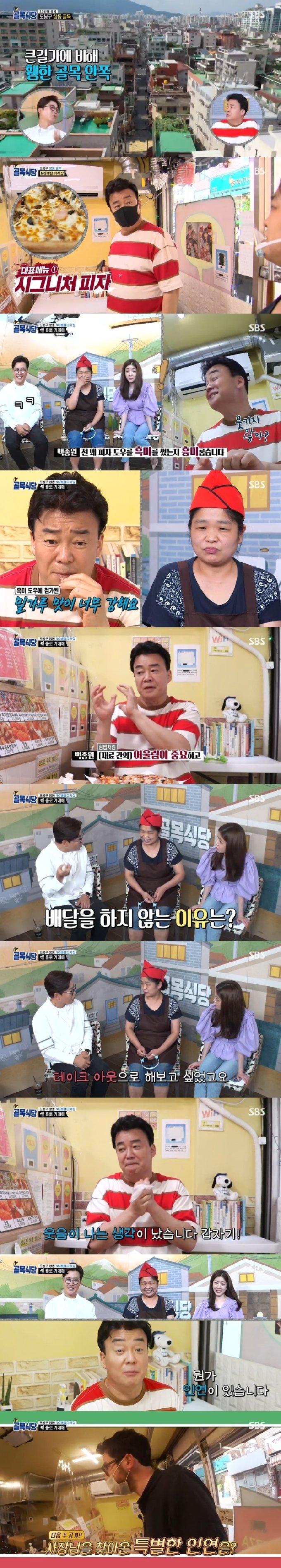 SBS '백종원의 골목식당' 캡처 © 뉴스1