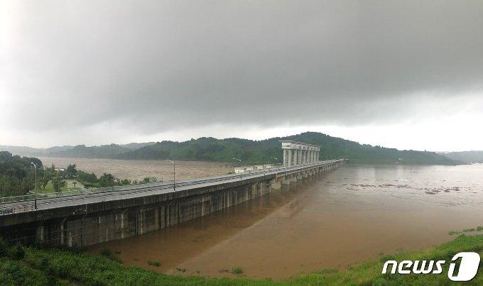 군남댐 © 뉴스1