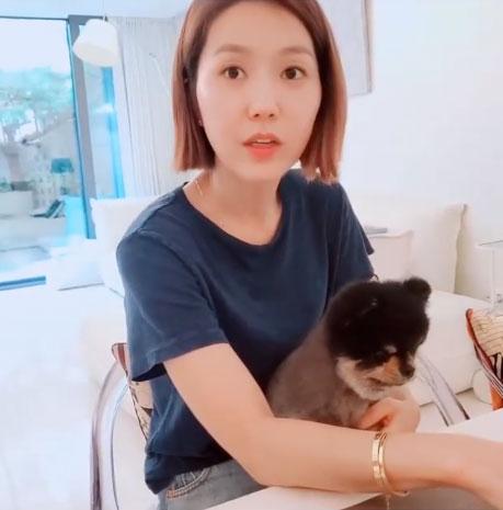 그룹 핑클 출신 배우 이진/사진=이진 인스타그램