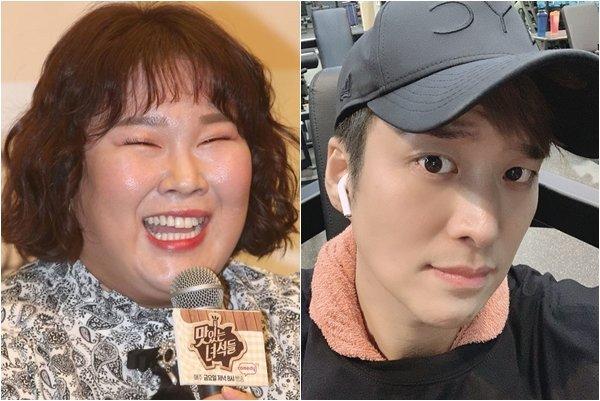 방송인 김민경, 송병철./사진=머니투데이 DB, 송병철 인스타그램
