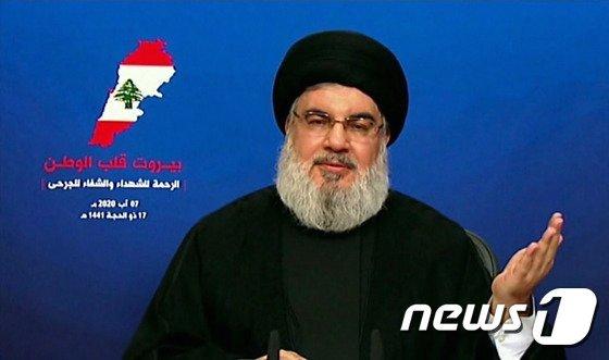 레바논 무장단체 헤즈볼라의 지도자 사예드 하산 나스랄라/사진=(AFP=뉴스1)