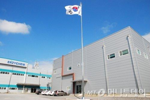 엔지켐생명과학 제천공장 전경/사진제공=엔지켐생명과학