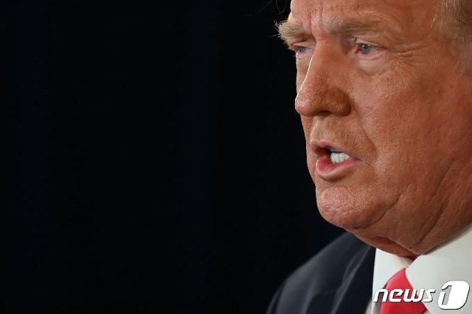 도널드 트럼프 미국 대통령 <자료사진> © AFP=뉴스1