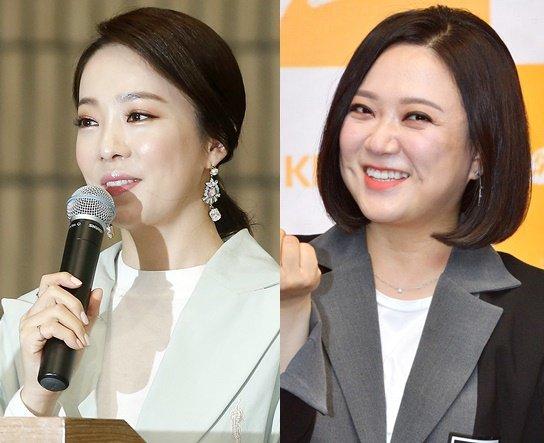 방송인 박은영(왼쪽)과 김숙 /사진=머니투데이DB