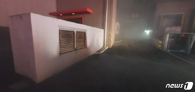 화재 발생 현장 모습.(경기도소방재난본부 제공)© 뉴스1