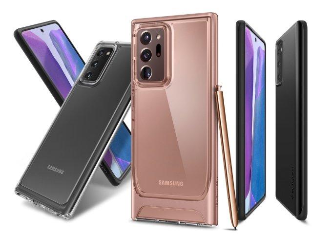 모바일 유틸리티 전문기업 슈피겐코리아가 삼성전자의 플래그십 스마트폰 '갤럭시 노트20' 전용 케이스를 출시했다./사진=슈피겐코리아