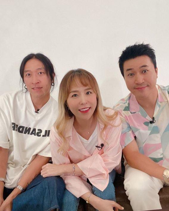 /사진=혼성그룹 '코요태'. 신지 인스타그램.