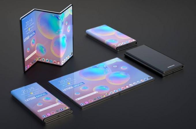특허로 본 휴대폰의 미래…'펴고' '말고' '당긴다'