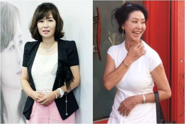 왼쪽부터 공지영 작가, 배우 김부선./사진=머니투데이 DB, 김부선 페이스북