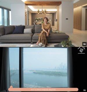 김성령, 으리으리한 한강뷰 집 공개…