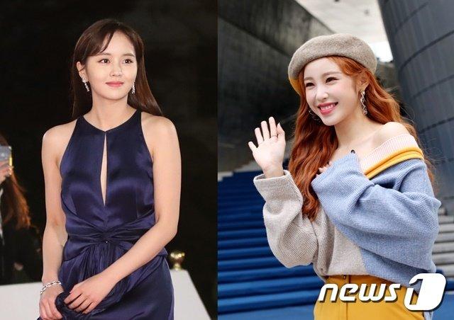 김소현(왼쪽), 전효성 © 뉴스1
