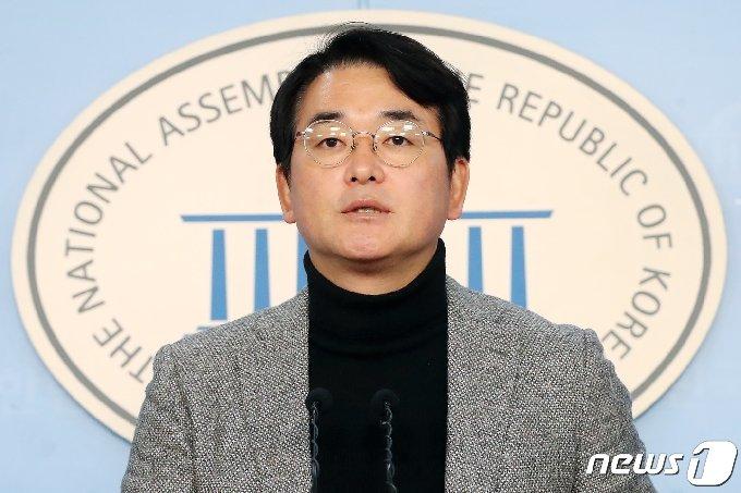 더불어민주당 박용진 의원이 이재명 경기도지사가 제안한 공매도 제도 개선 제안에 제도적 개선 내용을 담은 법안을 입법 발의하겠다고 화답했다./뉴스1 © News1 임세영 기자