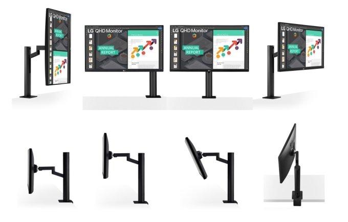 '360' 시리즈 중 'LG PC모니터 360(모델명: 27QN880)' 제품 이미지/사진제공=LG전자