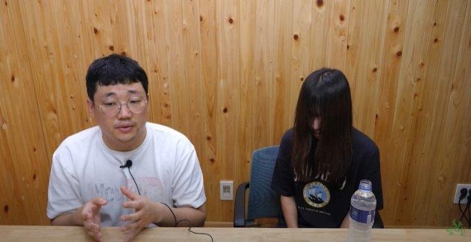/사진=지난 7일 애주가TV참PD 방송 속 쯔양.