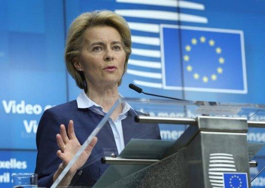 우르줄라 폰데어라이엔 유럽연합(EU) /사진=[브뤼셀=AP/뉴시스]