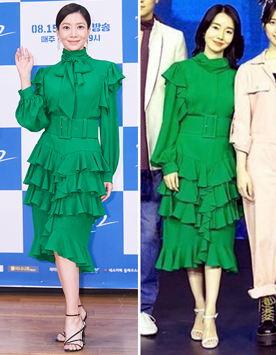 배우 윤세아, 이정현 /사진=tvN 제공, 인스타그램
