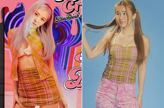 그룹 블랙핑크 로제/사진=블랙핑크 공식 트위터, 패션 브랜드 '와이낫어스' 공식 홈페이지