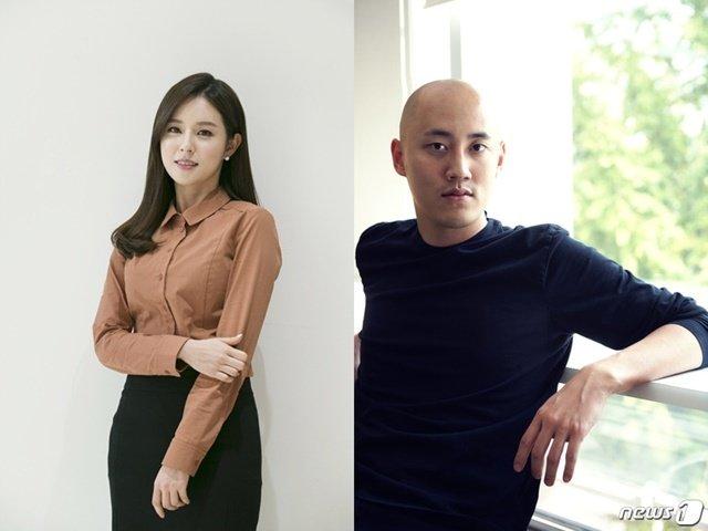 조수애 전 아나운서(왼쪽, JTBC)와 박서원 대표(뉴스1 DB) © News1