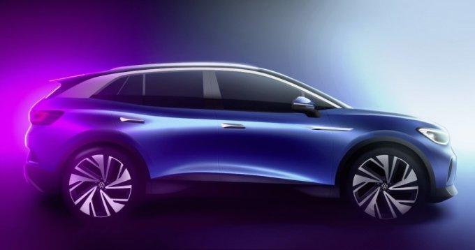폭스바겐, 브랜드 첫 순수 전기 SUV 'ID.4' 외관 디자인 공개