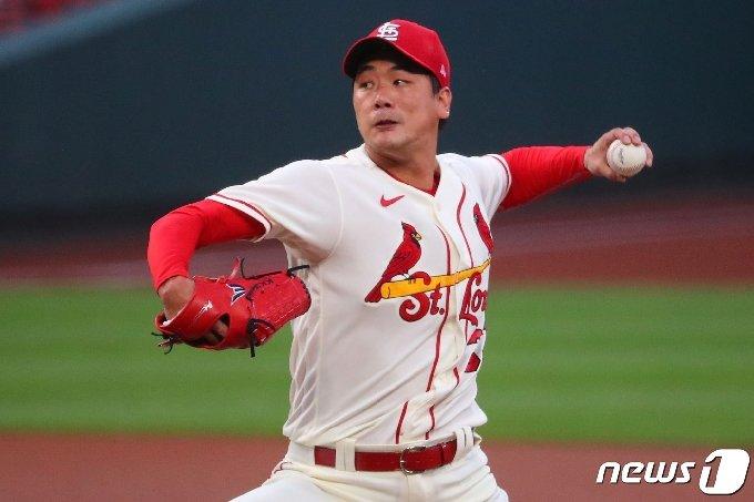 세인트루이스 김광현. © AFP=뉴스1 © News1 이동원 기자