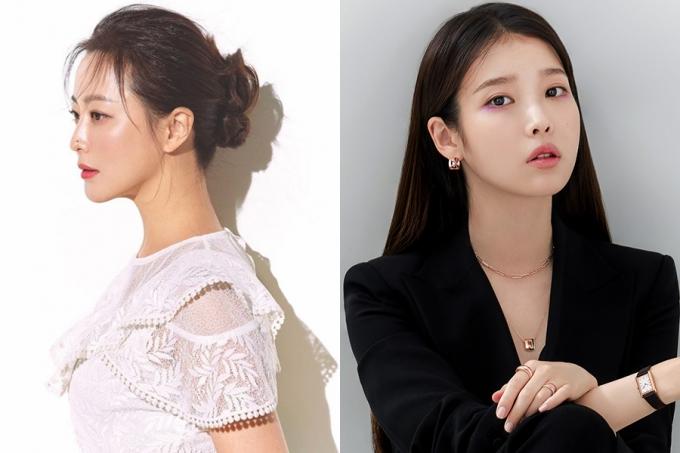배우 김희선, 아이유 /사진=조이너스, 제이에스티나 제공