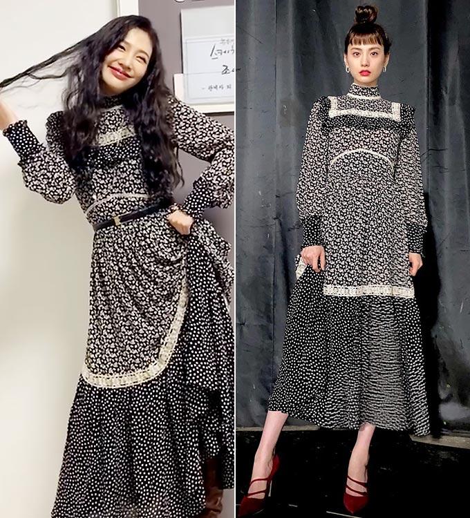 그룹 레드벨벳 조이, 가수 겸 배우 나나/사진=조이, 나나 인스타그램