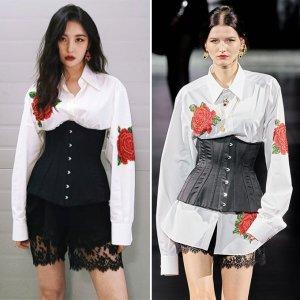 선미 vs 모델, 아찔한 코르셋 패션