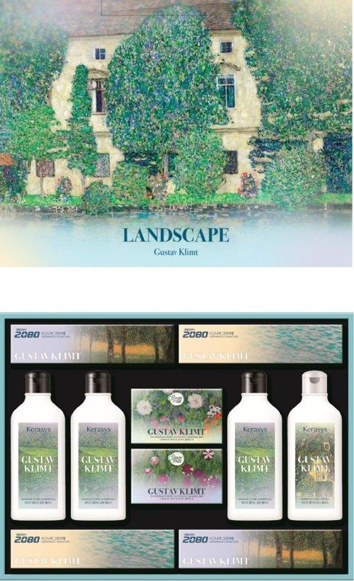 애경산업, 환경 보호 '쇼핑백 일체형 선물세트' 출시