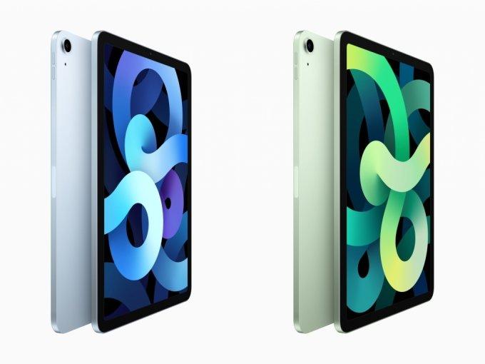 아이패드 에어4. 아이패드 프로처럼 제품 디자인과 성능이 향상됐다. /사진=애플