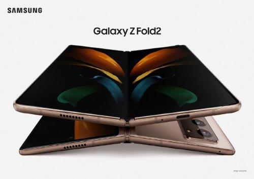 삼성전자 폴더블폰 '갤럭시Z 폴드2' /사진=삼성전자
