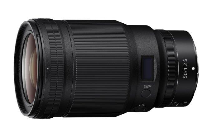 Z 마운트 시스템 표준 단초점 렌즈 '니코르 Z 50mm f/1.2 S' /사진=니콘