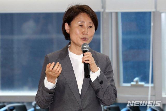 [서울=뉴시스] 이영환 기자 = 윤주경 미래통합당 의원. 2020.07.13.   20hwan@newsis.com