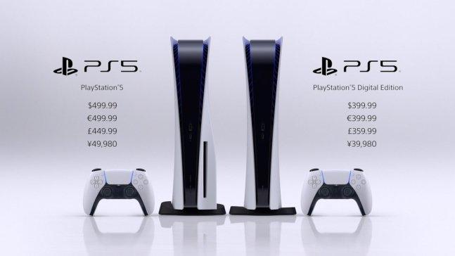 플레이스테이션5 모델별 출시 가격 /사진=SIE