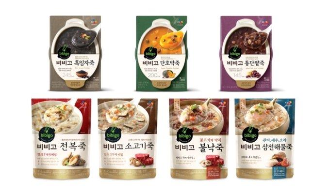 CJ제일제당 '비비고 죽' 5000만개 판매…1위 양반죽 바짝 추격