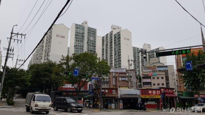 마포태영아파트 단지 전경/사진= 박미주 기자