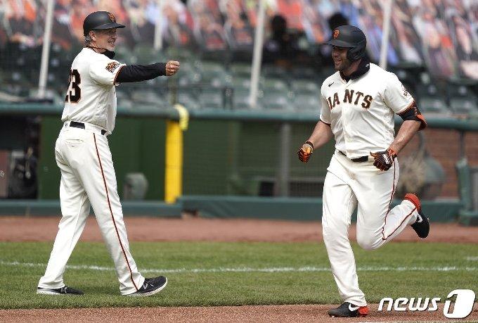 샌프란시스코 자이언츠 다린 러프. © AFP=뉴스1
