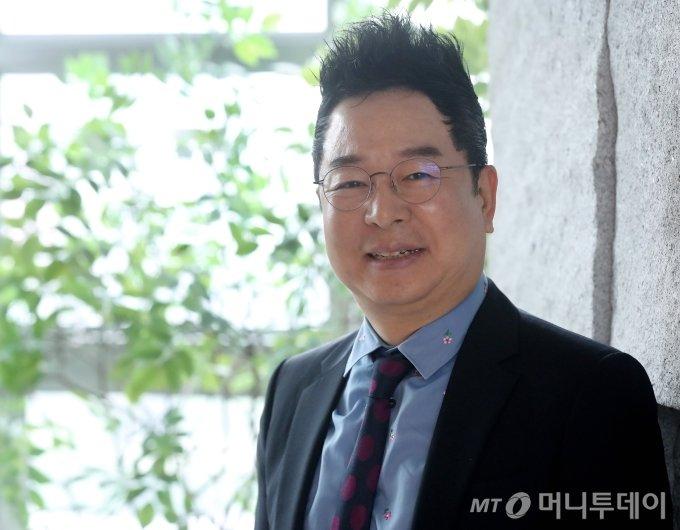 씨엠에스에듀 이충국 대표 인터뷰 / 사진=홍봉진기자 honggga@