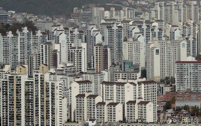 서울 아파트 전경./사진= 김창현 기자