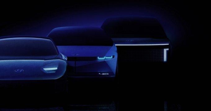 지난 8월 현대차가 발표한 전기차 브랜드 아이오닉의 렌더링 이미지. /사진제공=현대자동차