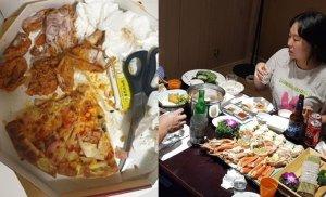 정주리 남편이 남긴 음식 사진에 네티즌 '분노'…정주리 해명