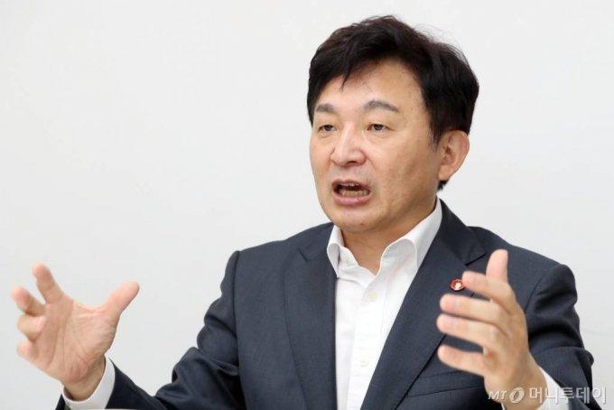 원희룡 제주도지사 인터뷰 / 사진=이기범 기자 leekb@