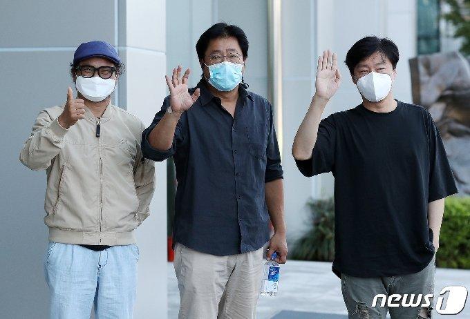 [사진] 김상호-곽도원-김희원 '국제수사의 주역들이 한자리에'