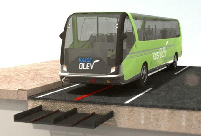와이파워원이 신청한 '85Khz를 활용한 전기버스 무선충전서비스 개요도/사진=과기정통부