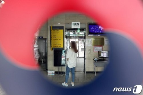 제85회 의사국가시험 실기시험이 이어지고 있는 가운데 14일 오후 서울 광진구 한국보건의료인국가시험원(국시원) 본관. /사진=뉴스1