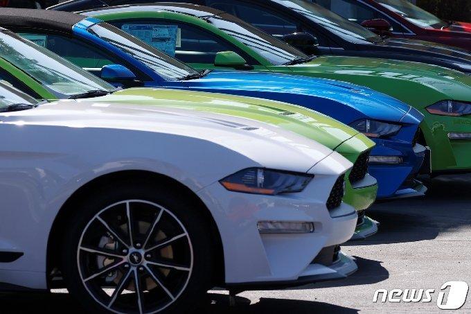23일(현지시간) 캘리포니아주가 2035년부터 내연기관 신차 판매를 금지한다고 발표했다. © 로이터=뉴스1