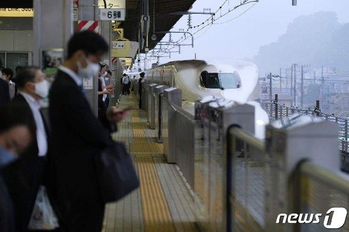 일본 도쿄의 거리. © AFP=뉴스1
