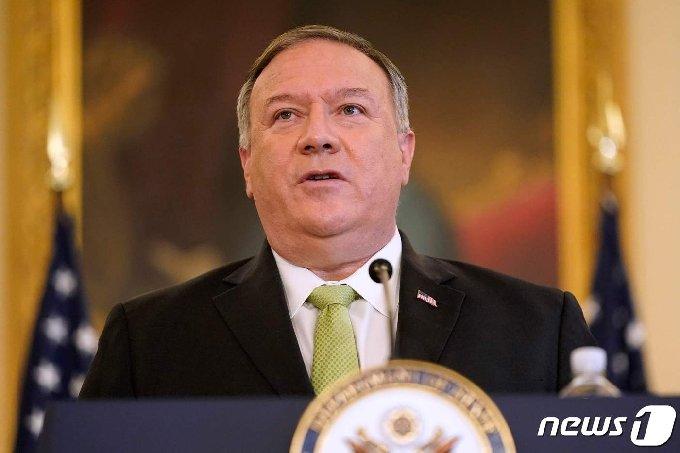 마이크 폼페이오 미국 국무장관. ⓒ AFP=뉴스1