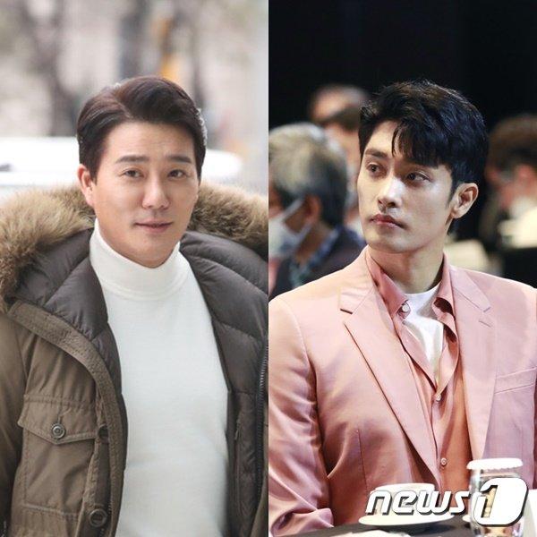 이태곤(왼쪽)과 성훈 © 뉴스1