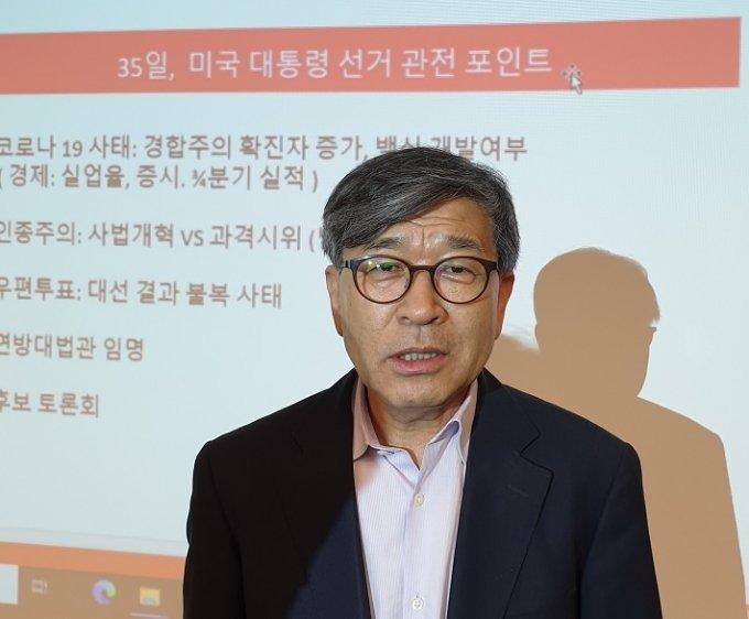 김동석 미주한인유권자연대 대표/ 사진=이상배 뉴욕특파원
